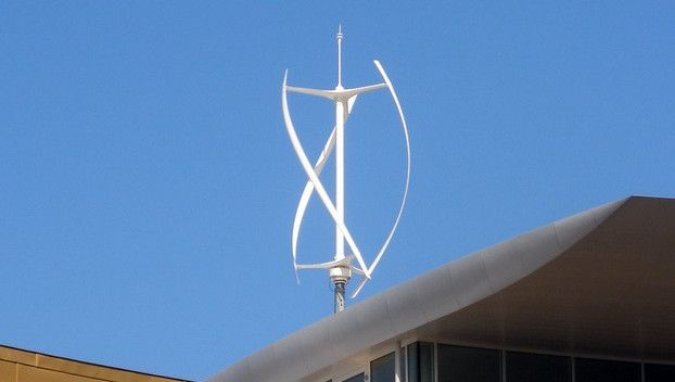 Plotting a vertical wind turbine